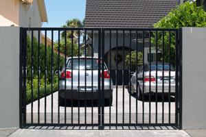 driveway security  gates and gate opener